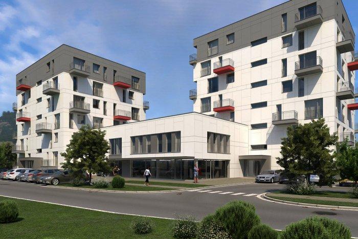 Výstavba bytového komplexu