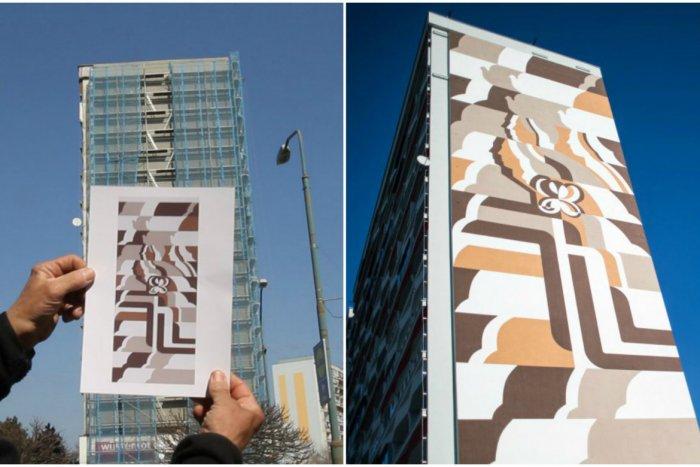 Ilustračný obrázok k článku Obnovená monumentálna maľba Mier bola poslednou v Petržalke