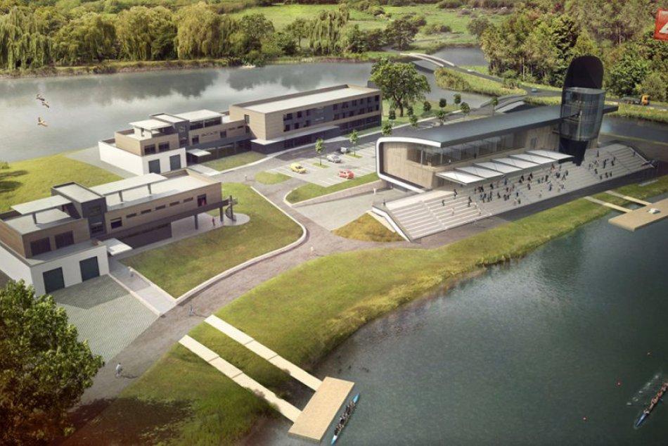 0223946560 Ilustračný obrázok k článku Na Zemníku sa začne budovať Národné centrum rýchlostnej  kanoistiky a veslovania